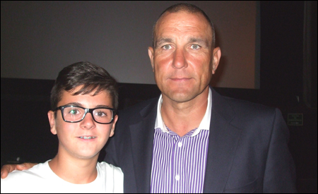 David y Vinnie Jones