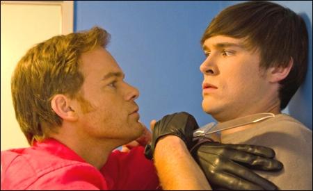 Dexter Morgan y Zach Hamilton