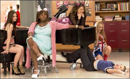 """Las chicas del Glee Club como las """"Spice girls"""""""