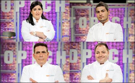 Erika, Vicente, Enrique y Eduardo