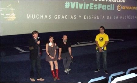 Presentación de la película