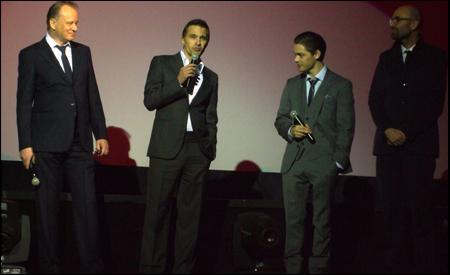Stellan Skarsgård, Olivier Martinez, Tom Payne y Philip Stölzl