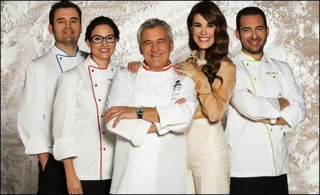 Sergi Vela, Amanda Laporte, Paco Torreblanca, Raquel Sánchez Silva y David Pallás
