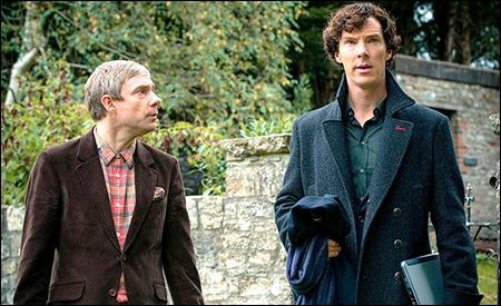 John Watson y Sherlock Holmes