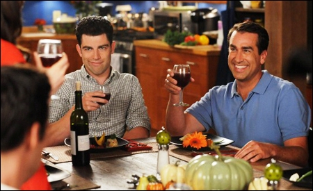 Max Greenfield y Rob Riggle