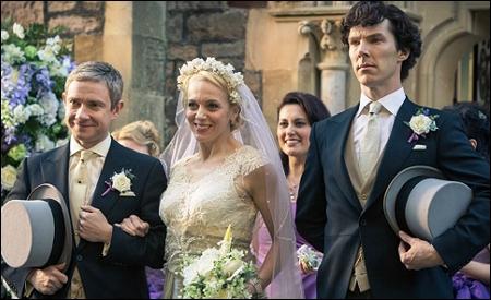 Watson, Mary  y Sherlock