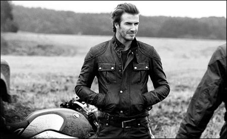 Beckham para Belstaff