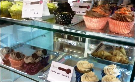 Los cupcakes de Dulcinea Bakery & Coffee