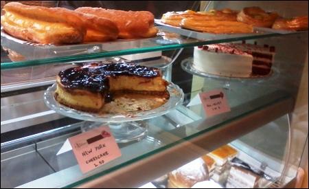 La tartas de Dulcinea Bakery & Coffee