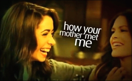 How your mother met me
