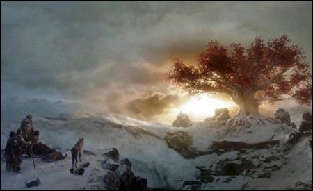 El grupo de Bran llega al Bosque Encantado
