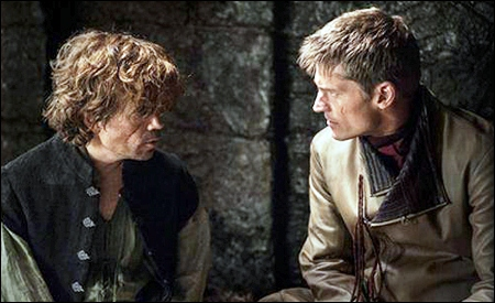 Tyrion y Jaime Lannister