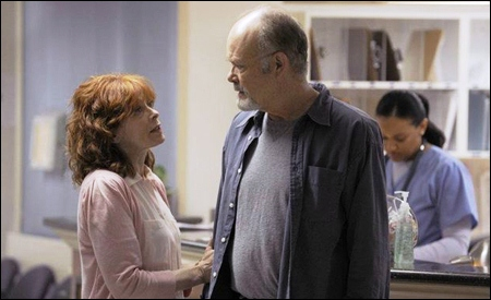 Frances Fisher y Kurtwood Smith