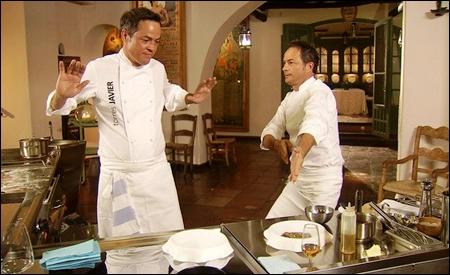 Javier y Sergio en acción