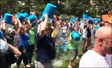 """Ice Bucket Challenge"" en Boston"