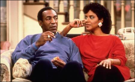 Bill Cosby y Phylicia Rashād son Cliff y Clair