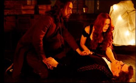 Ichabod y Katrina pendientes de su hijo