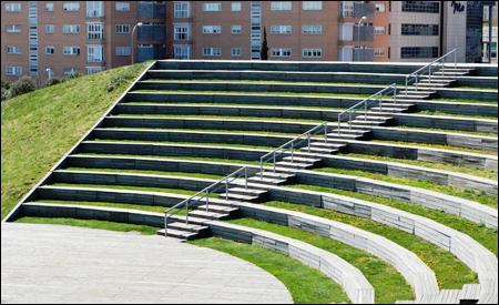 La plaza verde