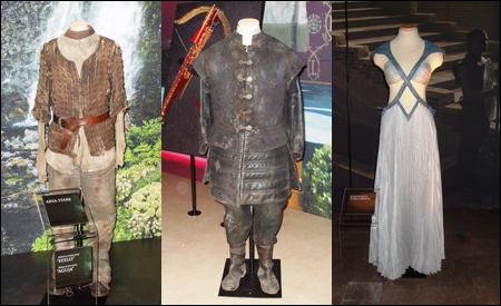 Vestuario de Arya, Tyrion y Daenerys