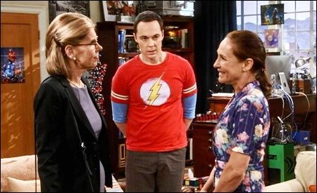 Beverly Hofstadter, Sheldon y Mary Cooper