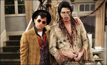 Duckie y Elvis zombi