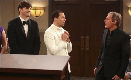 Michael Bolton cantando en la boda