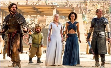 Daenerys atacada en el Gran Reñidero