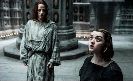 Jaqen H'ghar y Arya