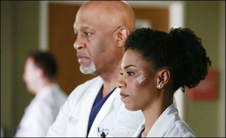 Richard Webber y Maggie Pierce