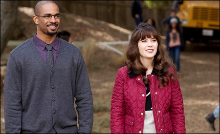 Damon Wayans Jr. y Zooey Deschanel