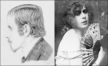 Einar Wegener (1920) y Lili Elbe (1926)