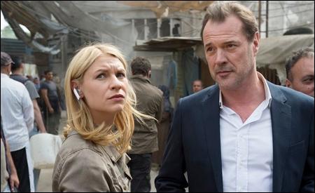 Claire Danes y Sebastian Koch son Carrie y Otto