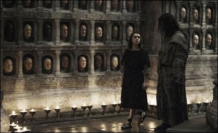 Arya y Jaqen H'ghar