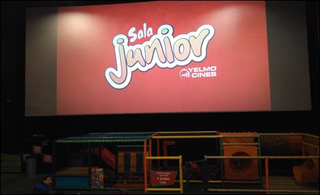 Sala junior de yelmo cines cosas que pasan for Sala junior islazul